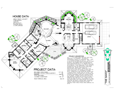 Organic architecture house plans house plans for Quadruplex floor plans